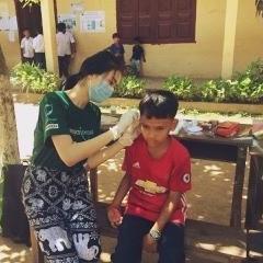 カンボジアで公衆衛生 泉桜子